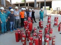 阳光王子组织新入职员工 消防培训暨演习活动