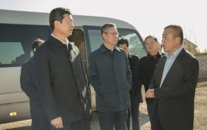 寿光市主要领导观摩阳光王子二期项目建设情况