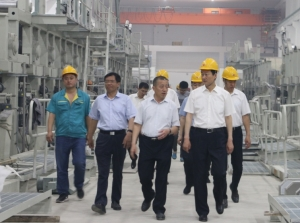 寿光市委书记朱兰玺视察阳光王子二期项目