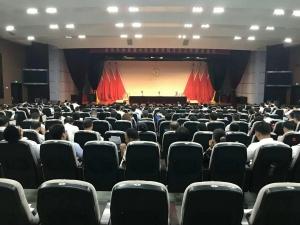 阳光王子参加寿光市 传承中华优秀传统文化工作推进会